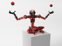 Robot ZL101 3D Model