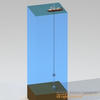 Lower marine riser package cap 3D Model