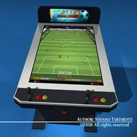 Videogame cabinet 3D Model