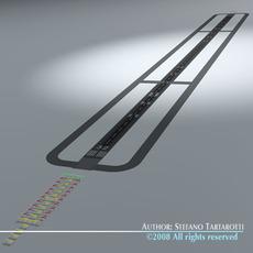 Runway 3D Model