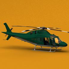 Agusta A119 Koala Skyline 3D Model