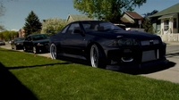 Skyline R34 Interp .Med rez-High rez 3D Model