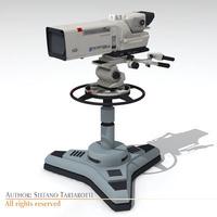 Sony HDC 1000 3D Model