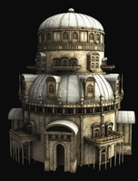 Fantasy Tower 3D Model