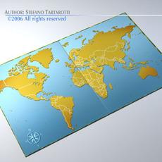 Gameboard 3D Model