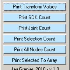 Print Toolbox for Maya 1.0.0 (maya script)