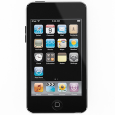 iPod Touch 2nd/3rd Generation 3D Model