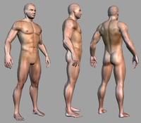 Lowpoly Man 3D Model