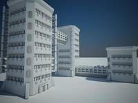 Sci-fi building11 3D Model