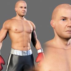 Boxer Male 3D Model