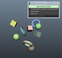 tk_bakeParticleInstancer 1.4.0 for Maya (maya script)