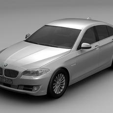 2010 BMW 5 Series 3D Model