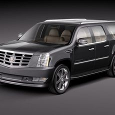 Cadillac Escalade ESV 2010 3D Model