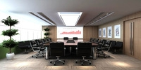 Conference Spaces 049 3D Model