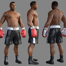 Boxer African 3D Model