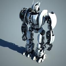 Robot ZEG3000 3D Model