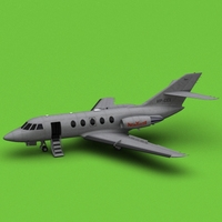 Dassault Falcon 20/200 New Yorker 3D Model