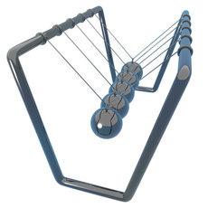 Newton's Cradle 3D Model