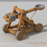 Catapult 3D Model