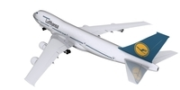 Boeing Lufthansa 3D Model
