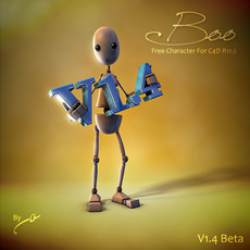 Boo V1.4.1 Beta  (4C4DR11.5) 3D Model