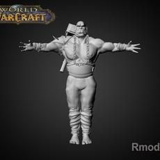 OrcWarior Trall 3D Model