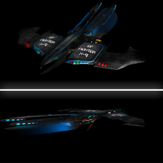 EF Fighter (Sci Fi) 3D Model