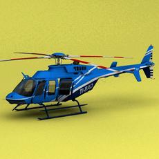 Aerobell Bell 407 3D Model