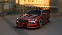 Nissan Skyline tuned 3D Model
