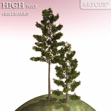 tree 016 3D Model