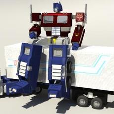 20th Anniversary Optimus Prime Masterpiece (MP-04) 3D Model