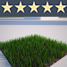 3D Grass Textured - Lawn, Turf, Yard for Backyard, Golf Course, Park, Soccer, Football Field etc. 3D Model
