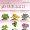 shrub collection 02 3D Model