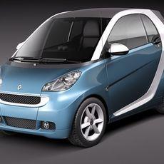 Smart 42 fortwo 3D Model