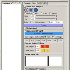 new skinningTools for Maya 1.0.0 (maya script)