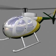 Hughes500 V2 3D Model
