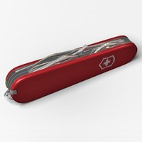 Swiss army knife 3D Model