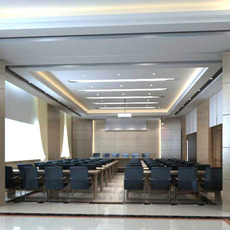 Conference Spaces 041 3D Model
