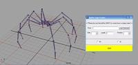MechSpider Leg Creator 1.0.0 for Maya (maya script)