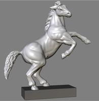 horse statue (roman) 3D Model
