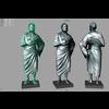 01 08 14 642 3d roman statue 4