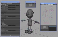 Automatic Rigging System written in MEL 0.2.8 for Maya (maya script)
