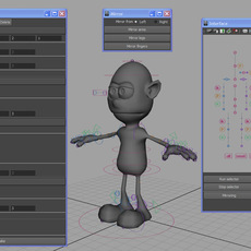 Automatic Rigging System written in MEL for Maya 0.2.8 (maya script)