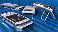 Nokia N86 White 3D Model