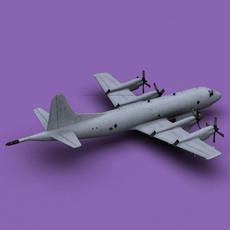 P-3 Orion Greece Air Force 3D Model