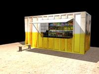 Free Local Shop 3D Model