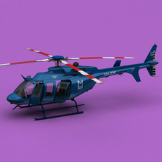 Bell 407 Monarch Enterprises Inc 3D Model