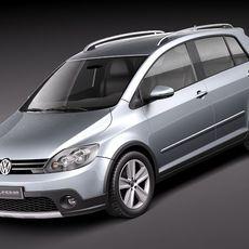 Volkswagen CrossGolf 3D Model