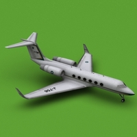 GULFSTREAM AEROSPACE GULFSTREAM IV Paf 3D Model
