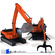 excavator collection 3 3D Model